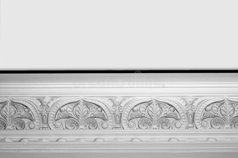 Download Decorative cornice stock photo. Image of moulded, decoration - 18824178