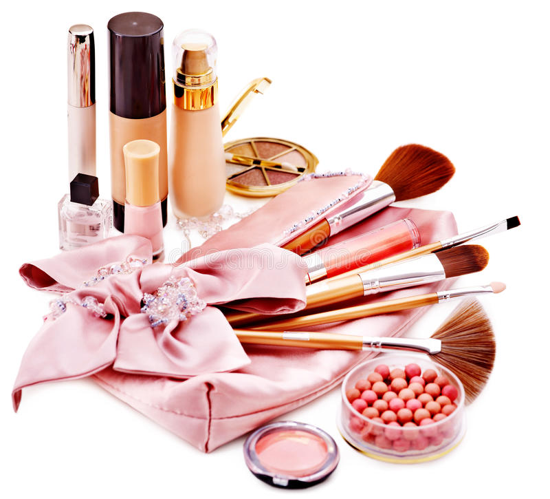 Download Decorative Cosmetics And Flower. Royalty Free Stock Photo - Image: 34068495