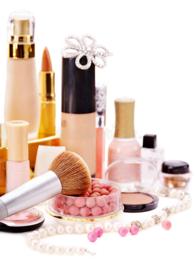 Download Decorative Cosmetics For Makeup. Stock Images - Image: 24154094