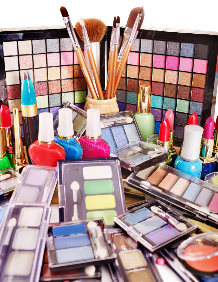 Download Decorative Cosmetics For Makeup. Stock Image - Image: 24372229