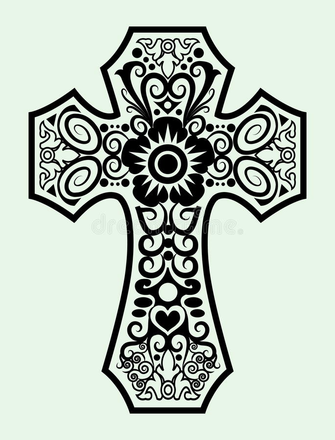 black shop cross religious f decor patches decorative white all patch