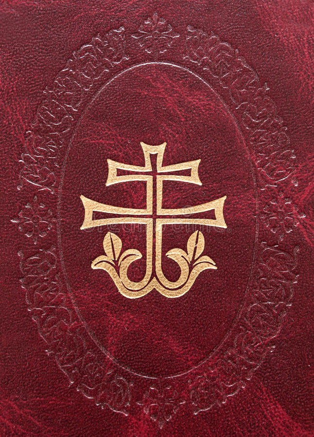 Download Decorative Cross On Leather Stock Photo - Image: 15514238