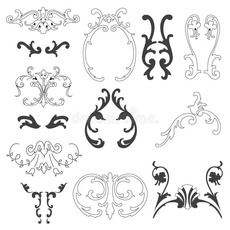 Decorative Design Elements Royalty Free Stock Photo