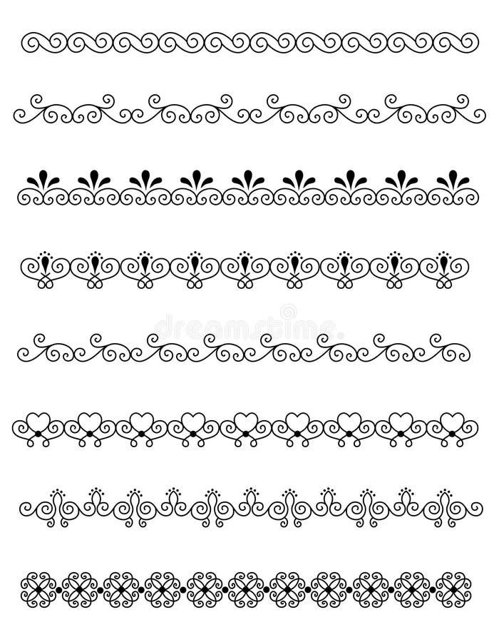Download Decorative divider stock vector. Image of crafts, assortment - 24936725