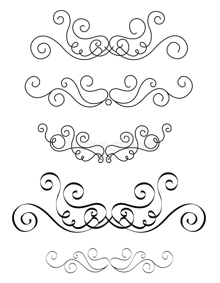 Decorative Dividers Stock Photos