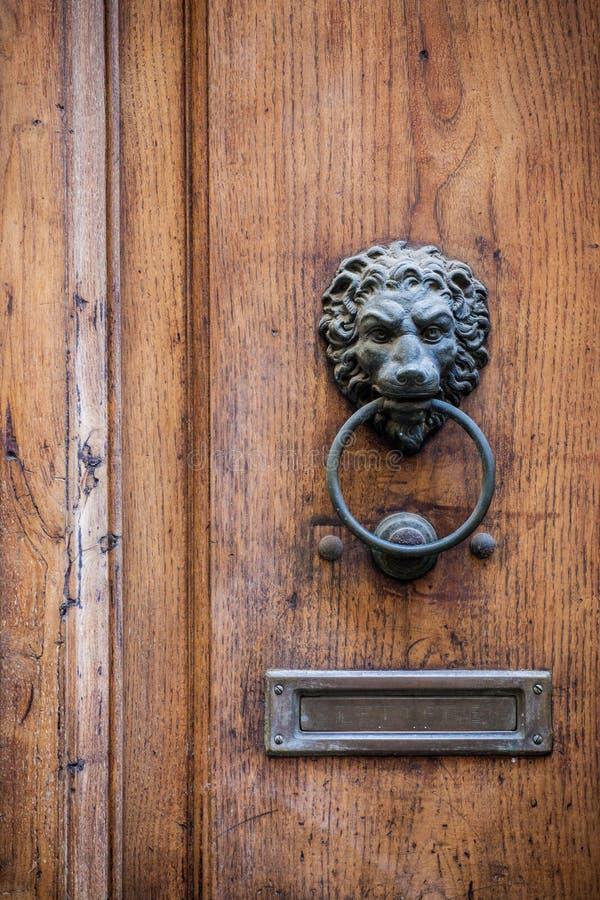 Download Decorative Door Knocker Stock Photo. Image Of Hole, Brass    39781582