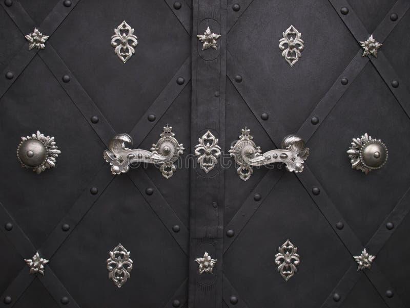 Decorative doors stock photo