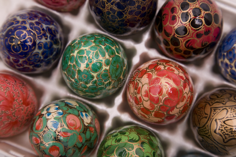 Download Decorative eggs 2 stock image. Image of paint, easter - 8902813
