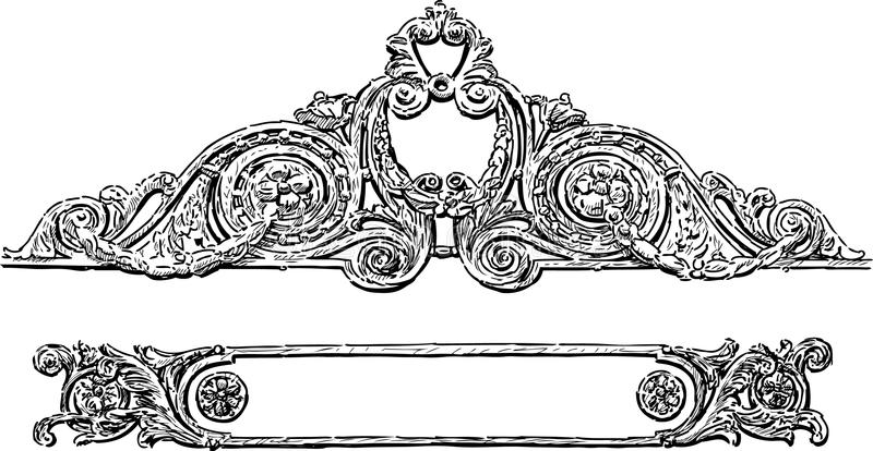 Download Decorative element stock image. Image of detail, decoration - 33283311