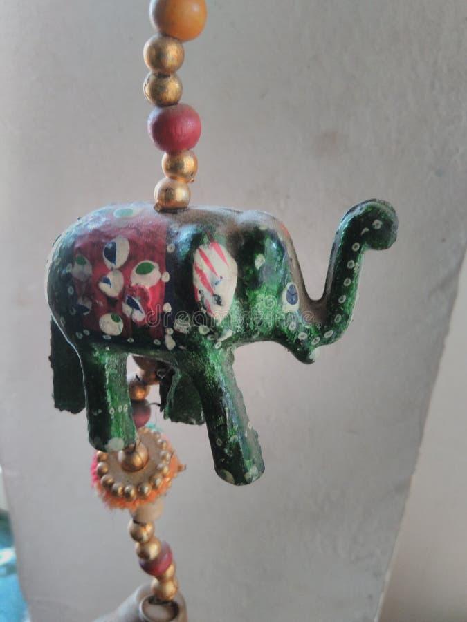 Decorative elephant royalty free stock photo