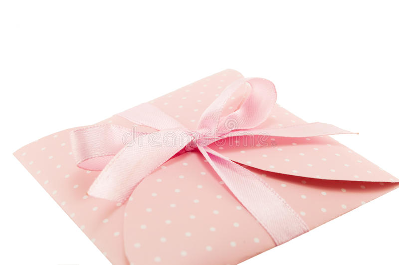 Decorative envelope royalty free stock image