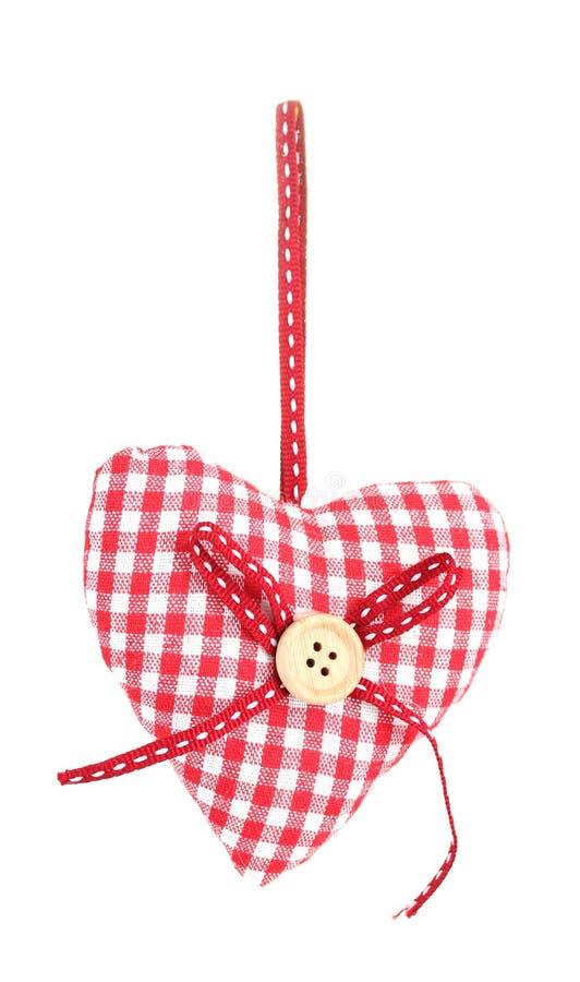 Decorative Fabric Heart Royalty Free Stock Photos