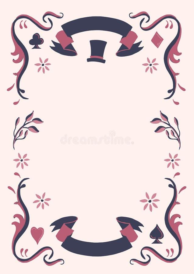 Decorative Fairy Tale Frame Stock Illustration - Illustration of ...