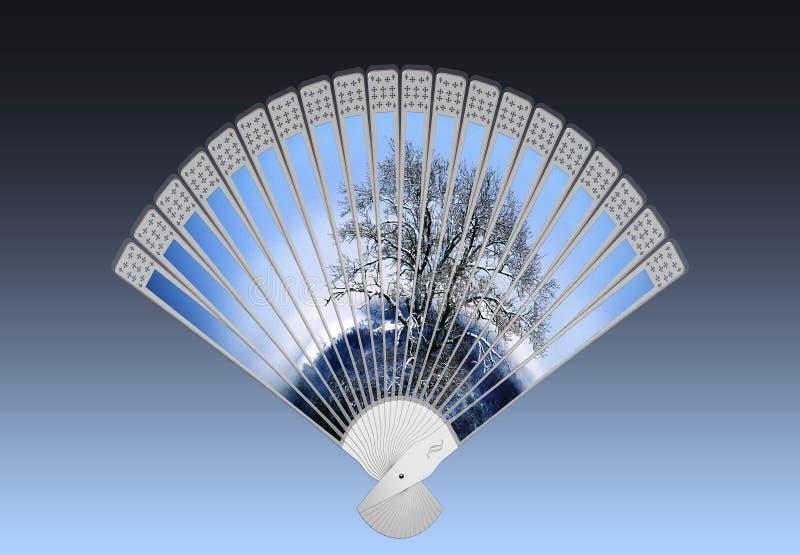 Decorative Fan, Hand Fan, Product Design, Sky royalty free stock image