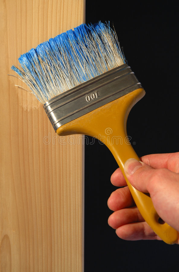 Decorative finishing stock photo