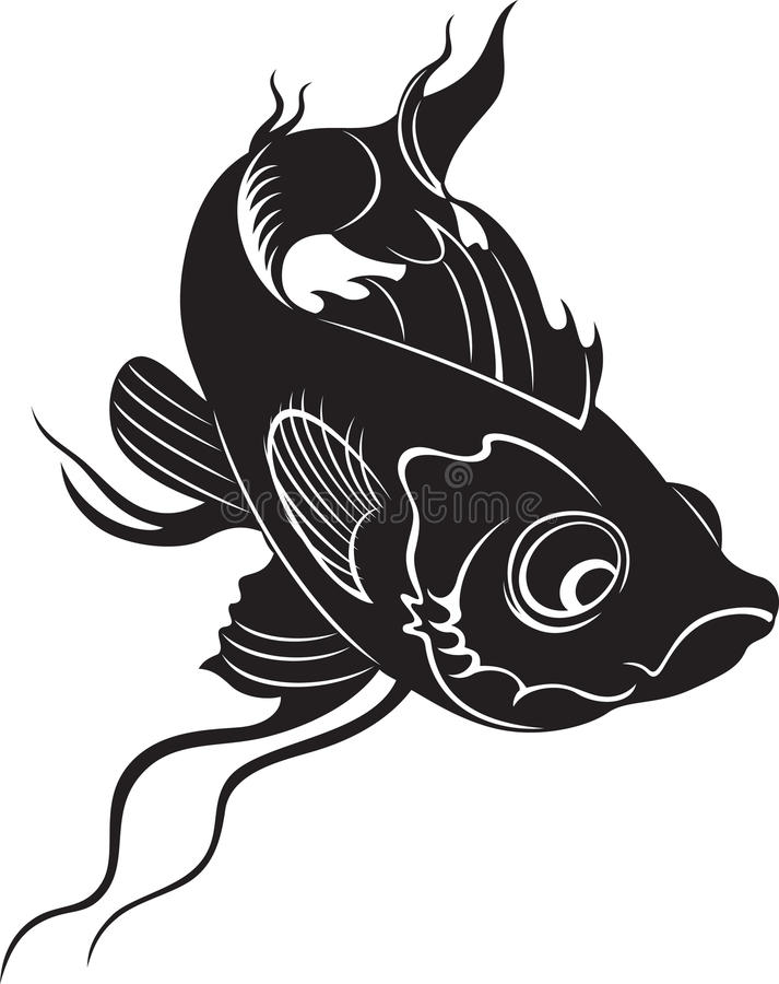 Download Decorative fish stock vector. Image of isolated, animal - 19991993