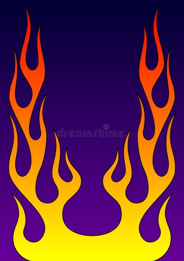 Decorative flame