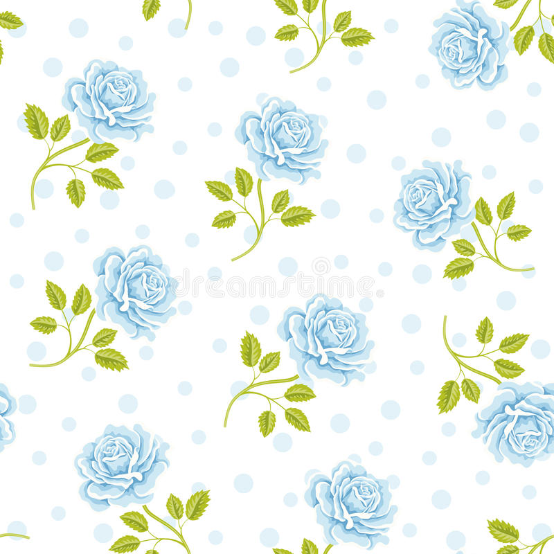Decorative floral background royalty free illustration