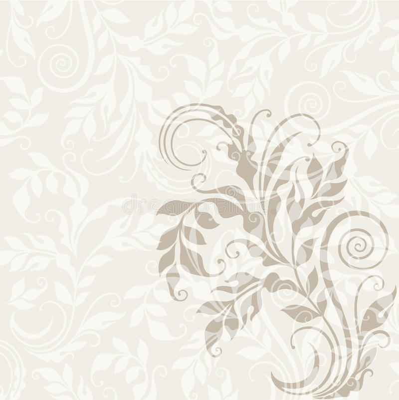 Download Decorative Floral Background Stock Vector - Image: 25246256