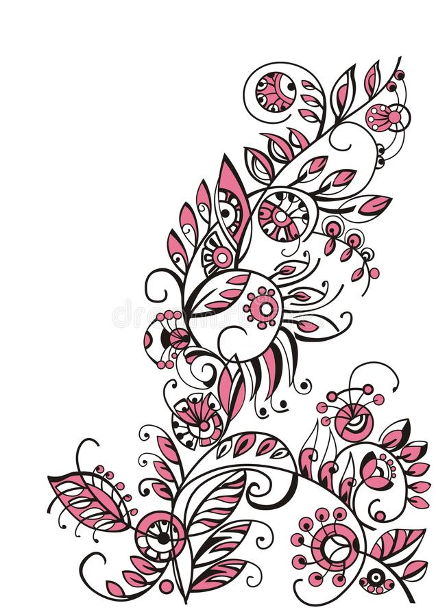 Free Decorative Floral Design Royalty Free Stock Photography - 16766977