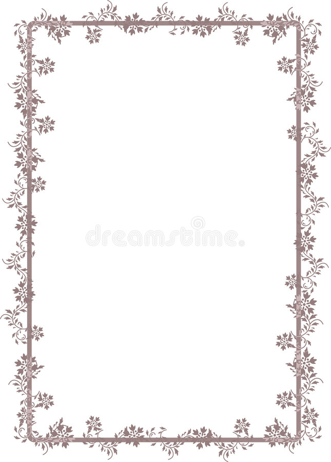 Download Decorative Floral Frame Royalty Free Stock Image - Image: 9115236