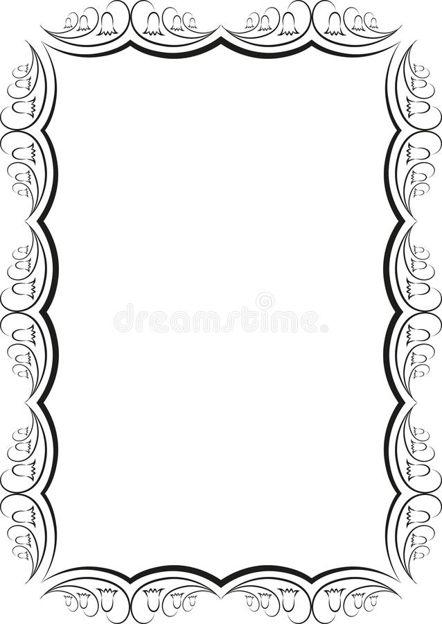 Download Floral frame stock vector. Illustration of clipart, graphic - 30307824