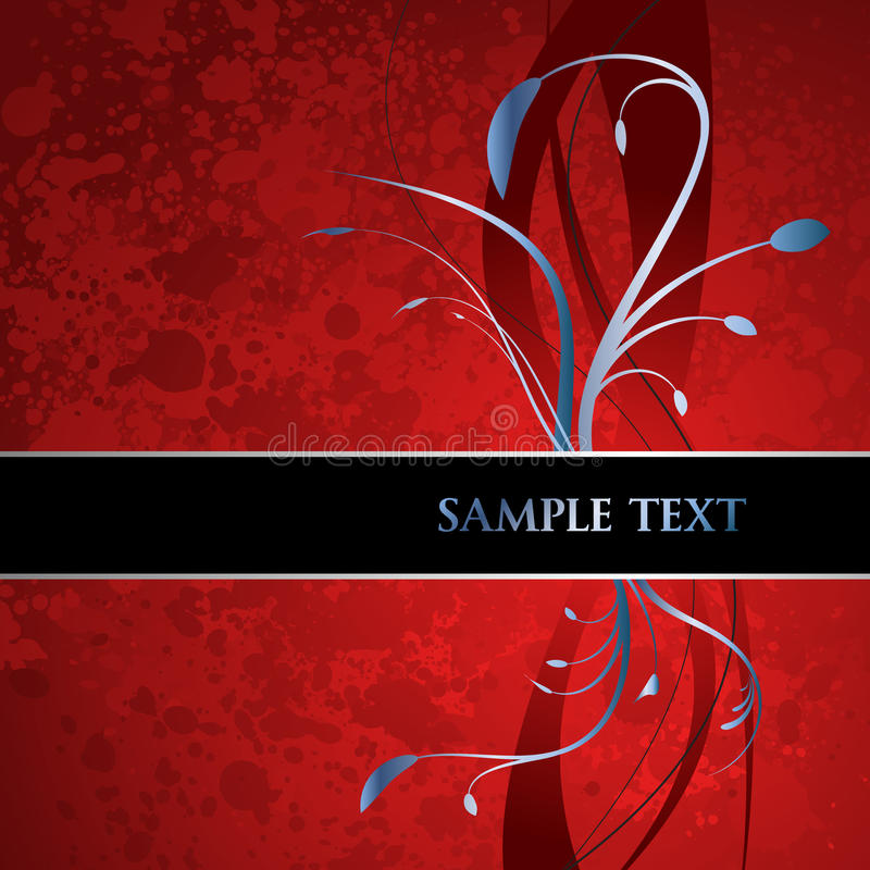 Download Decorative floral label stock vector. Illustration of copy - 12911509