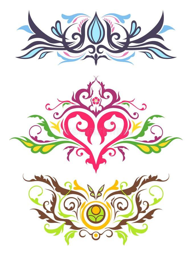 Download Decorative Floral Ornaments Stock Vector - Image: 28688239