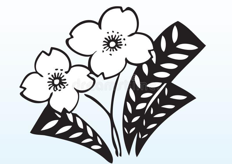 Download Decorative flowers stock vector. Illustration of illustration - 7574259