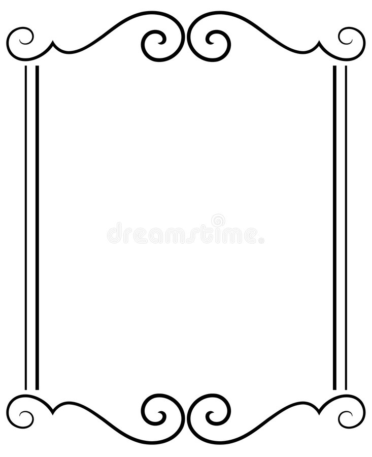 Decorative Frame stock illustration