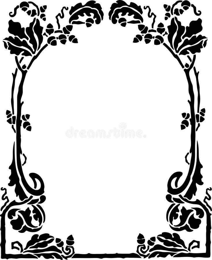Decorative Frame royalty free illustration
