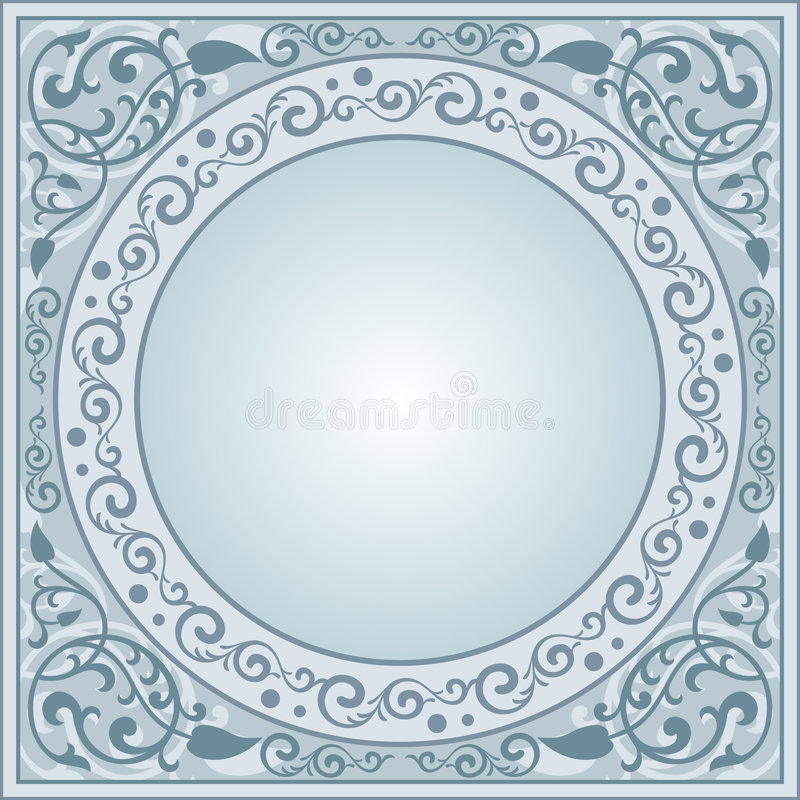 Download Decorative frame stock vector. Image of board, fashioned - 4181092