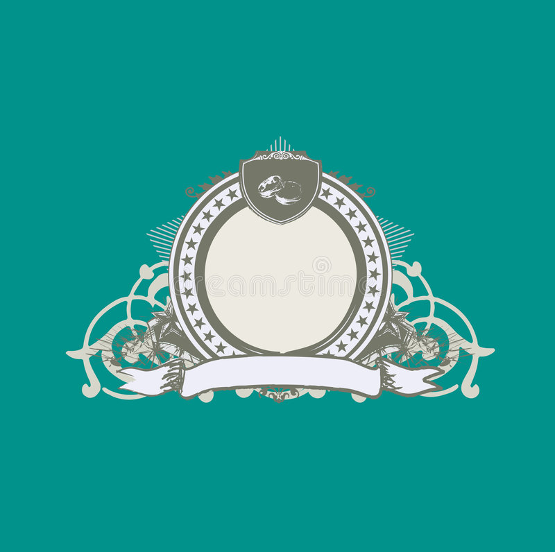 Download Decorative frame stock vector. Illustration of graphic - 5945928
