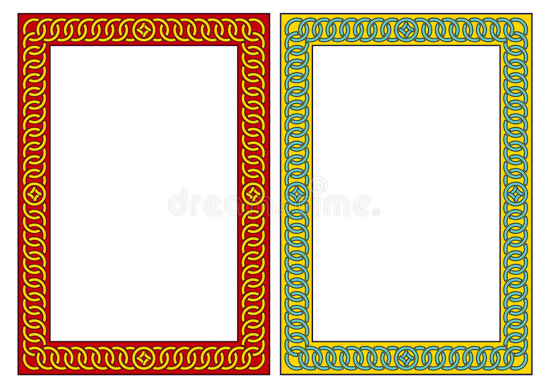 Download Decorative Frame. JPG And EPS Royalty Free Stock Photography - Image: 1346437