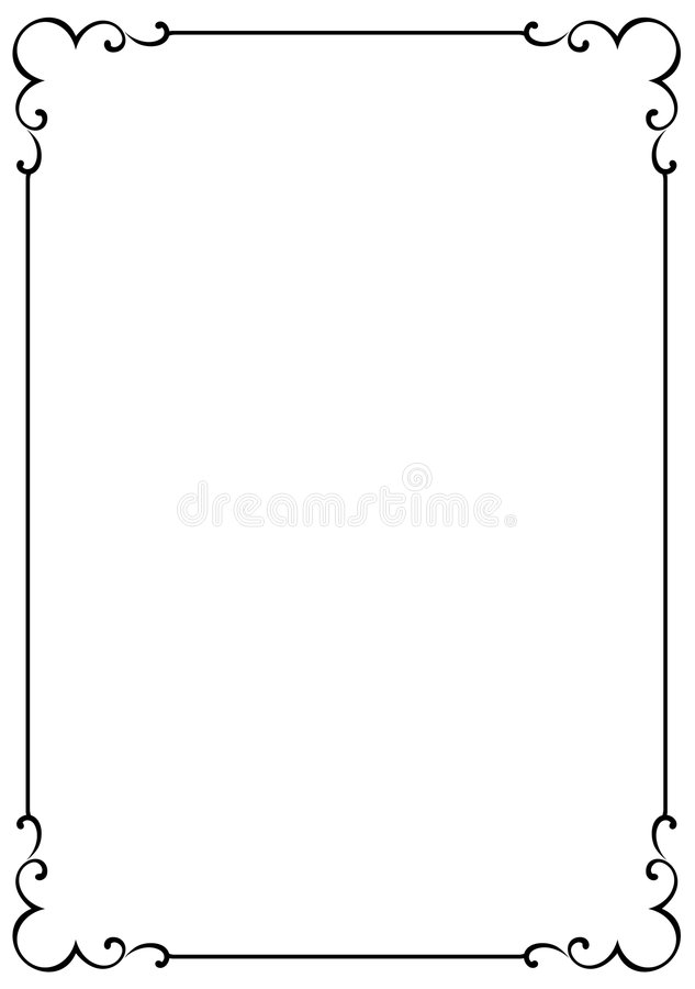 Decorative frame JPG + EPS. Vector decorative frame. This is a vector image - you can simply edit colors and shapes