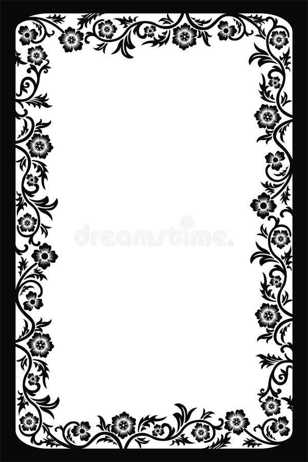 Download Decorative frame, vector stock vector. Image of background - 503156