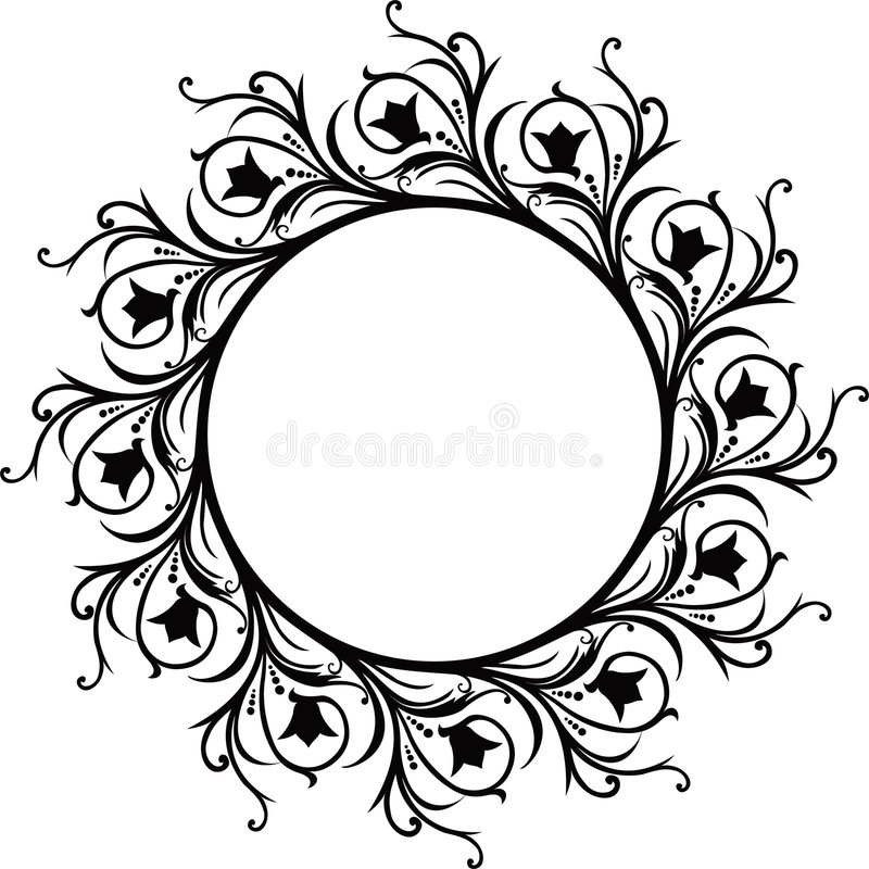 Decorative frame, vector royalty free illustration