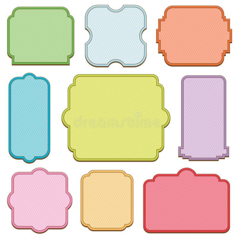 Decorative frames vector illustration
