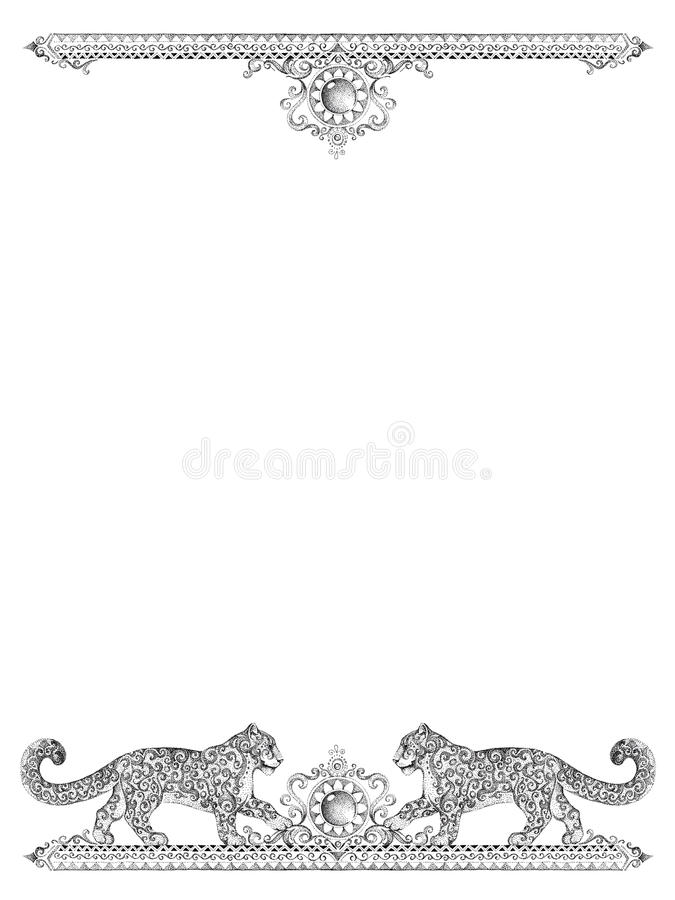 Decorative Frames For Cards, Wedding Invitations, Menus, With Sn ...