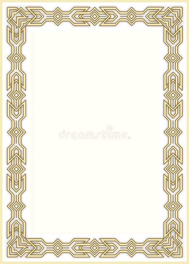 Decorative framework 10 royalty free stock images