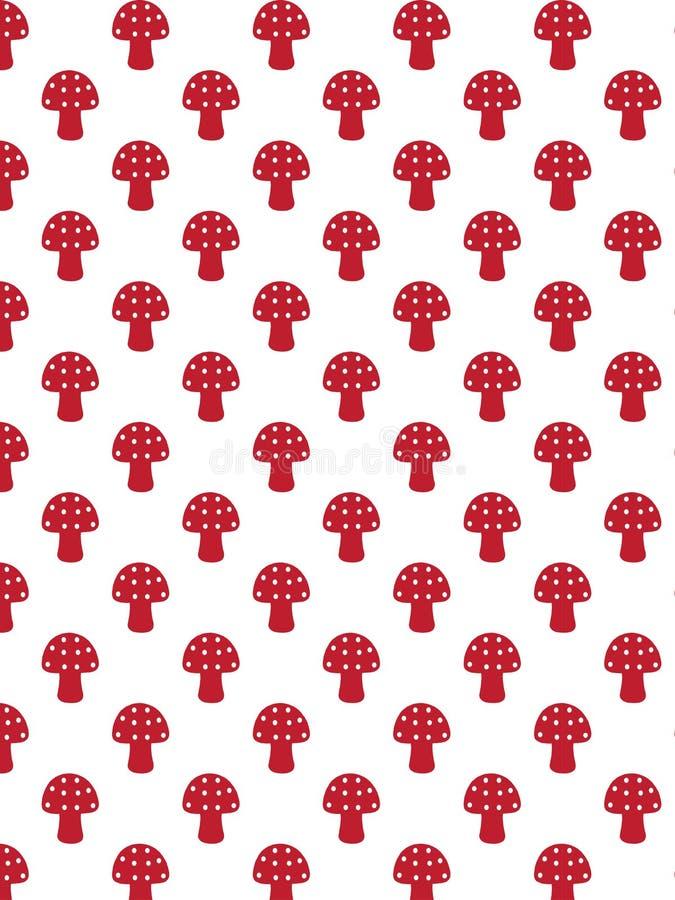 Decorative fungus pattern stock photo