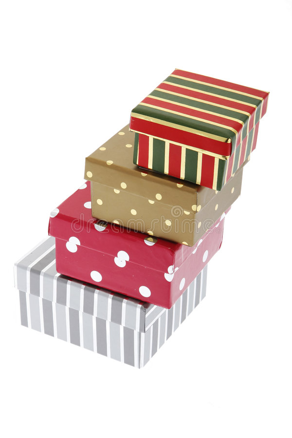 Decorative Gift Box Royalty Free Stock Photography