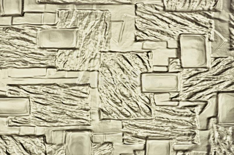 Decorative glass. Detail abstract glass surface in the background royalty free stock photo