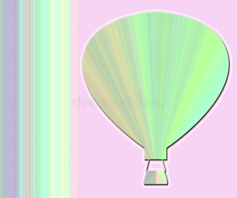 Decorative Hot Air Balloon Stock Image