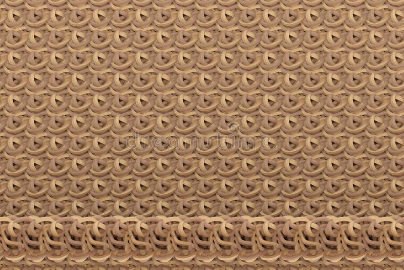 Decorative, illustrations CGI composition, string mat geometric backdrop, for design texture background. 3D render. CGI composition, string mat geometric vector illustration