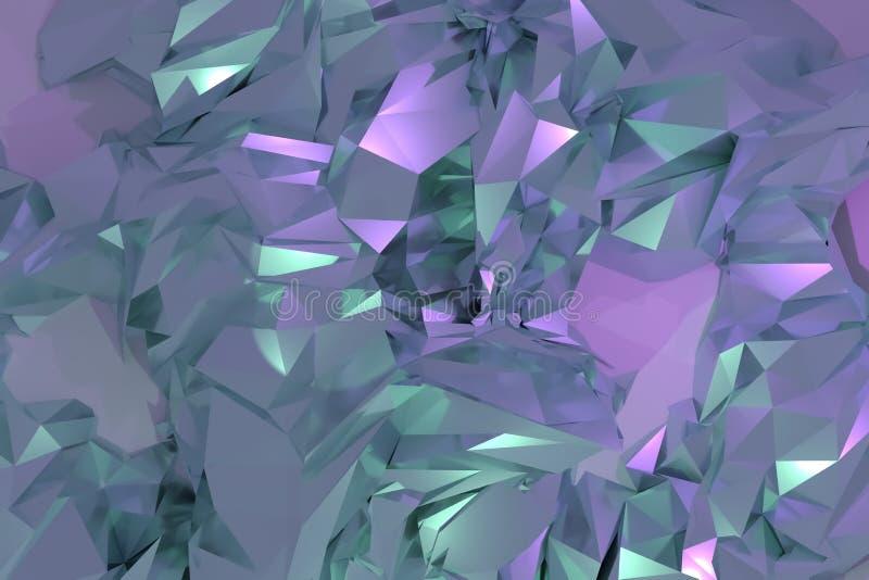 Decorative, illustrations CGI, random geometric backdrop, for design texture background. 3D render. vector illustration