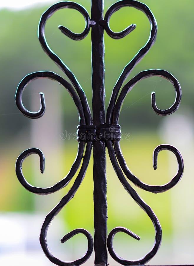 Decorative iron stock photo