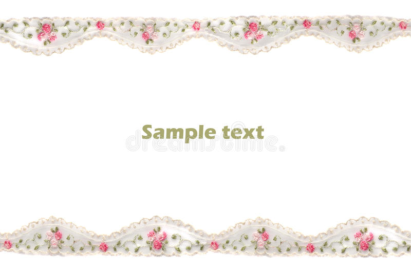 Download Decorative Lace With Pattern Stock Illustration - Image: 17694657