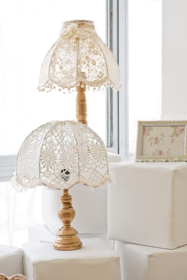 decorative lamps στοκ εικόνα
