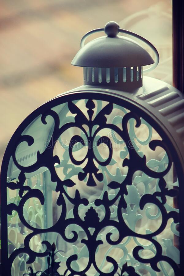 Decorative lantern stock photography